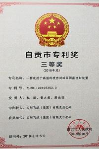vwin668公司成为自贡市知识产权试点企业