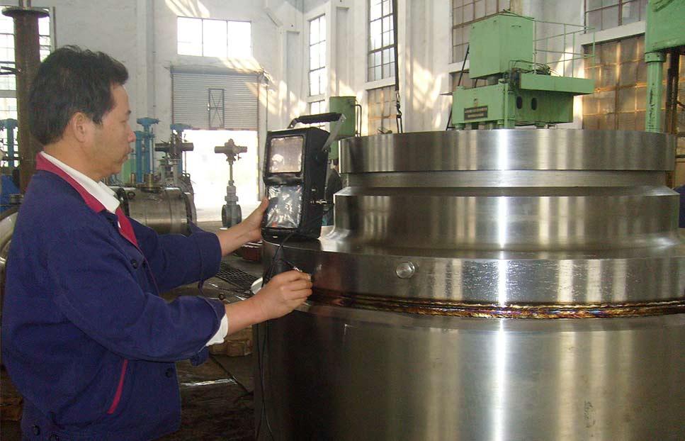 超声波检测焊接口