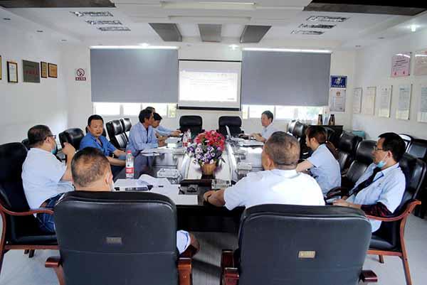 vwin668公司召开焊接材料管理规定会议