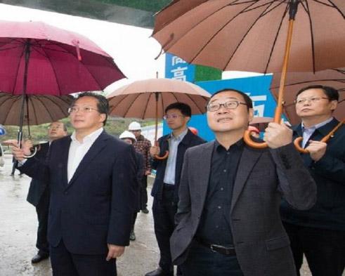 自贡市委书记范波一行视察vwin668新工厂